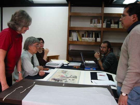 Trabajo con la Colección Tablada